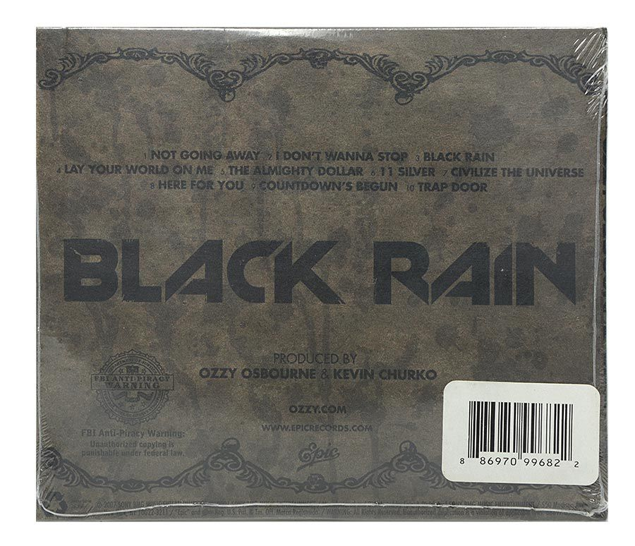 Cd Ozzy Osbourne - Black Rain - Importado USA - Lacrado