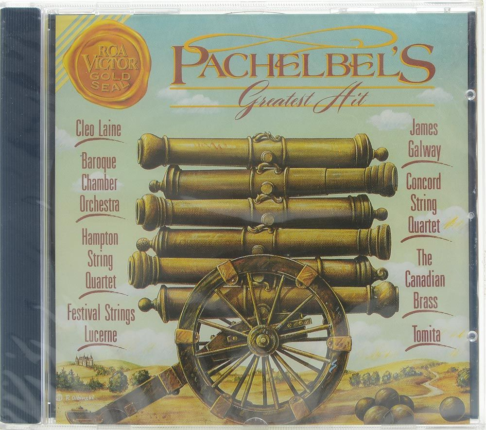 CD Pachelbels Greatest Hit - Canon In D - Importado - Lacrado
