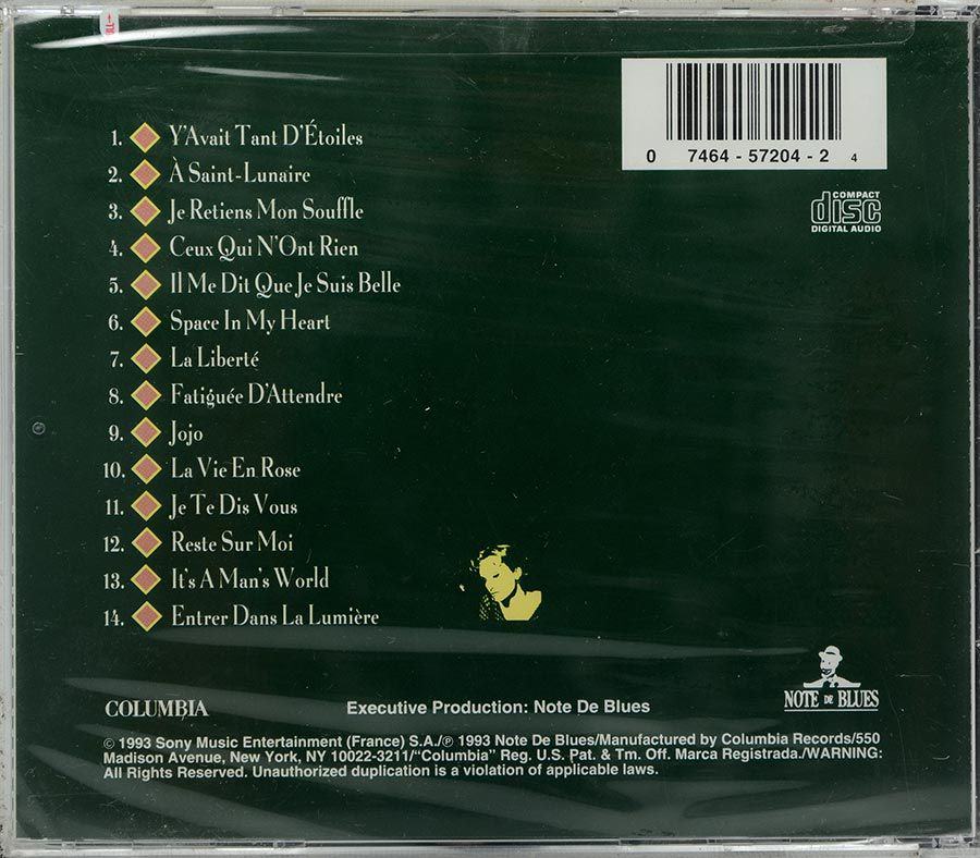CD Patricia Kaas - Tour De Charme - Lacrado - Importado