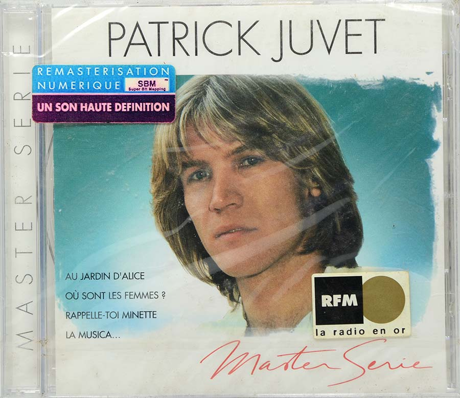 Cd Patrick Juvet - Master Serie - Lacrado - Importado