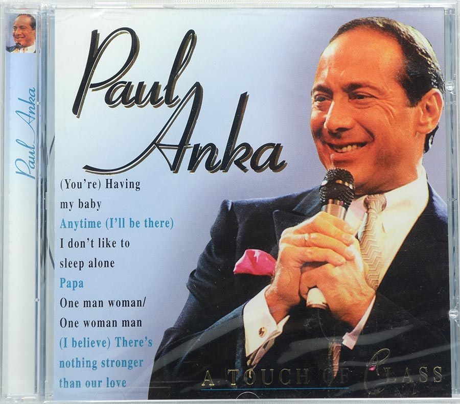 Cd Paul Anka - A Touch Of Class - Lacrado - Importado