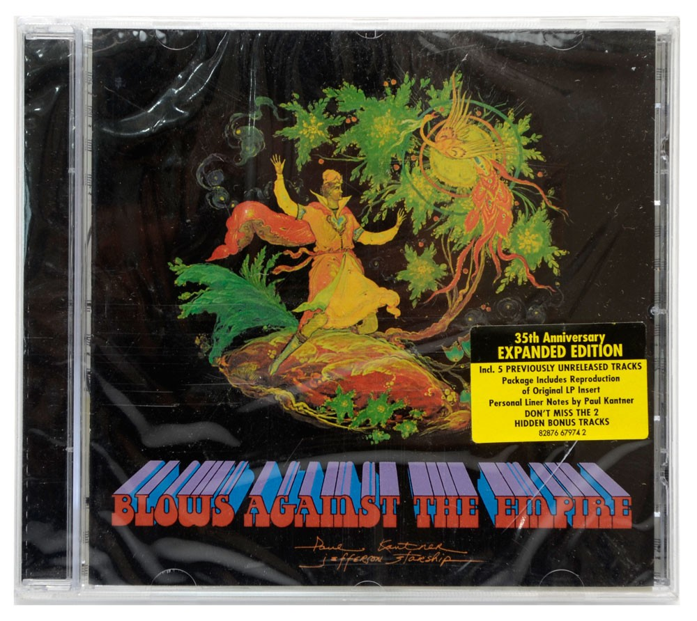 CD Paul Kantner / Jefferson Starship - Blows Against The Empire - Lacrado - Importado