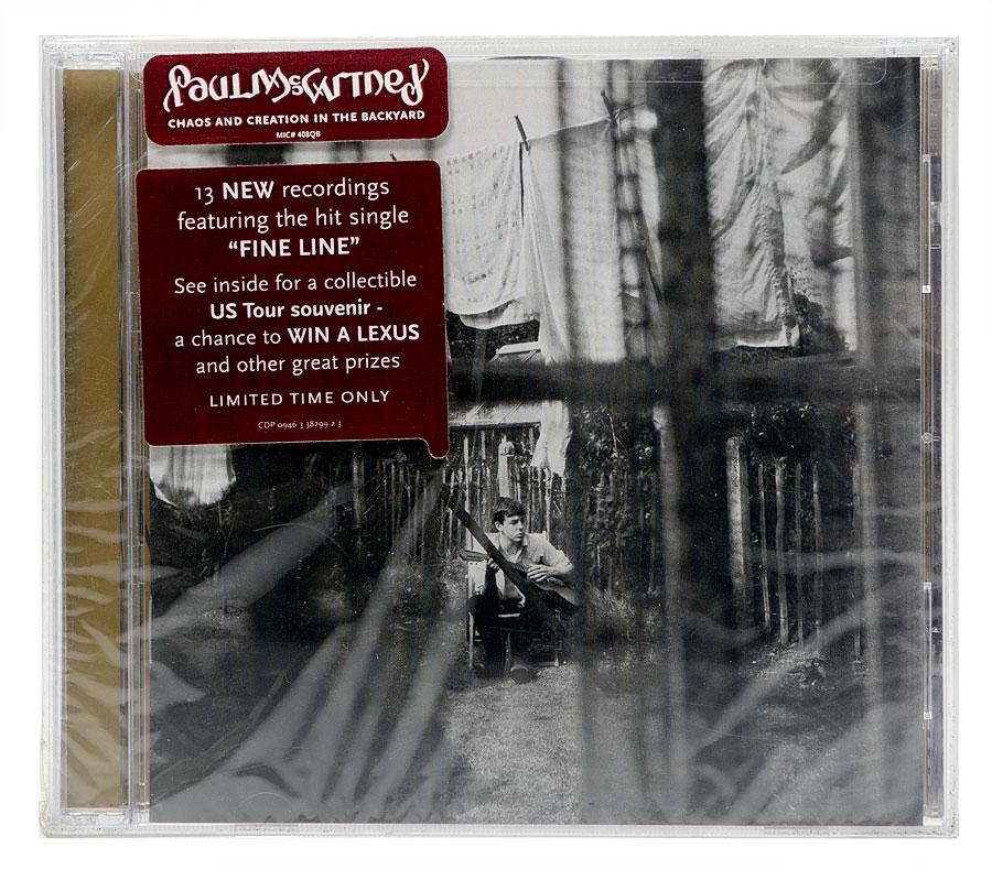 CD Paul McCartney - Chaos and Creation in the Backyard - Importado - Lacrado