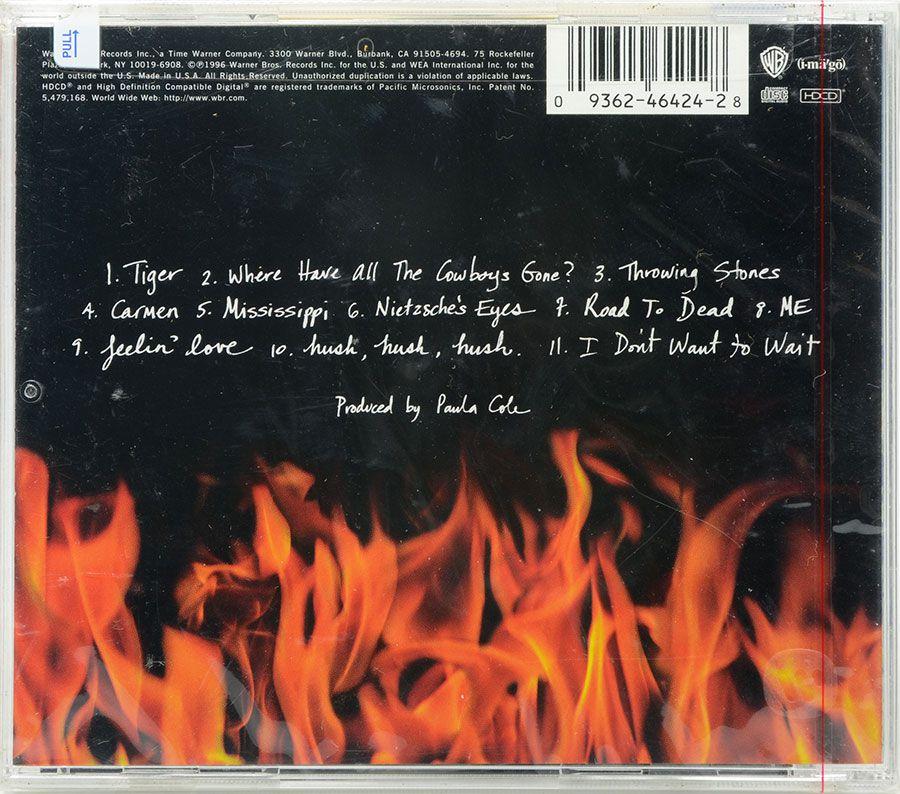 CD Paula Cole - This Fire - Lacrado - Importado