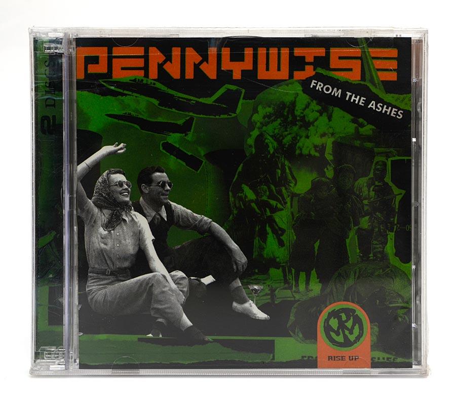CD Pennywise - From The Ashes - Duplo: CD+DVD - Importado - Lacrado