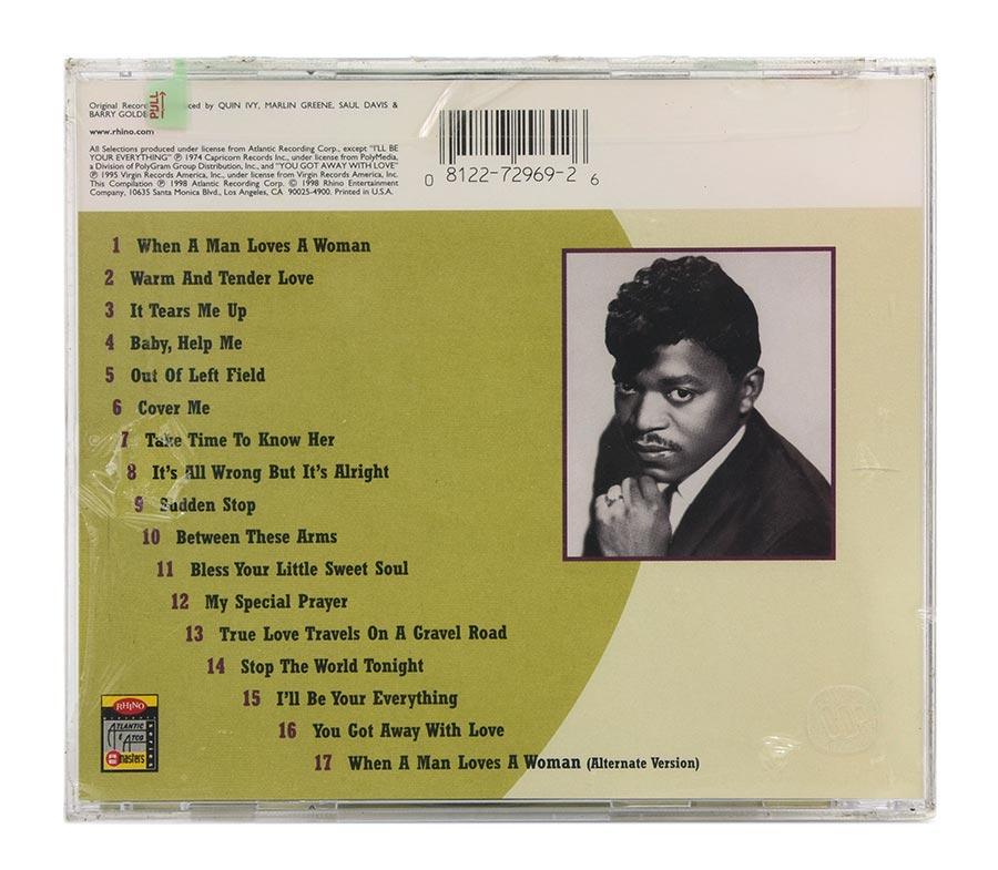 CD Percy Sledge - The Very Best Of - Importado - Lacrado