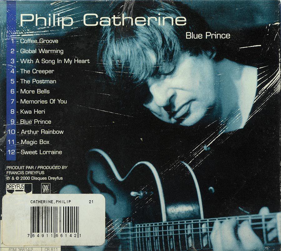 CD Philip Catherine - Blue Prince - Lacrado - Importado