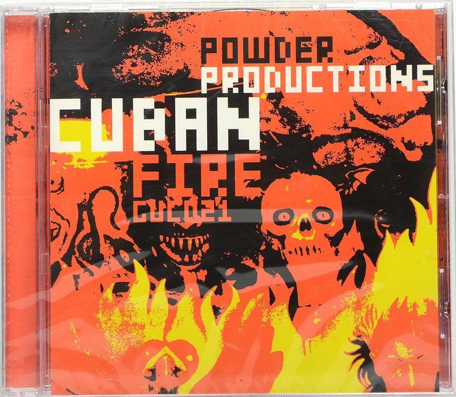Cd Powder Productions - Cuban Fire - Lacrado - Importado
