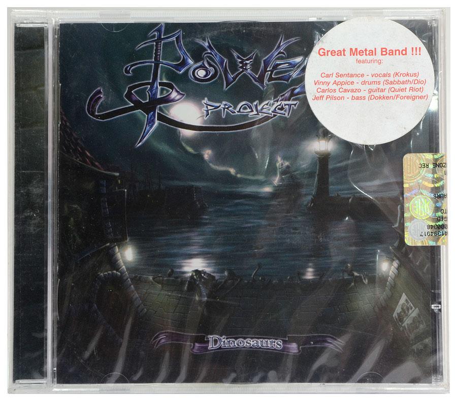 CD Power Project - Dinosaurs - Importado - Lacrado