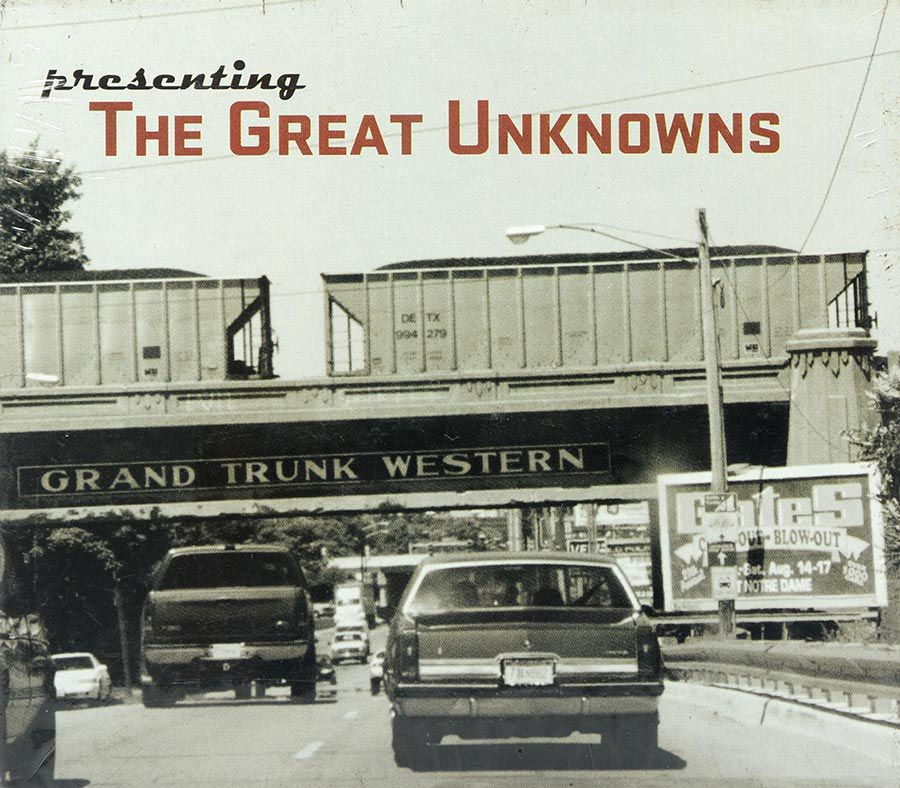 CD Presenting The Great Unknowns - Lacrado - Importado