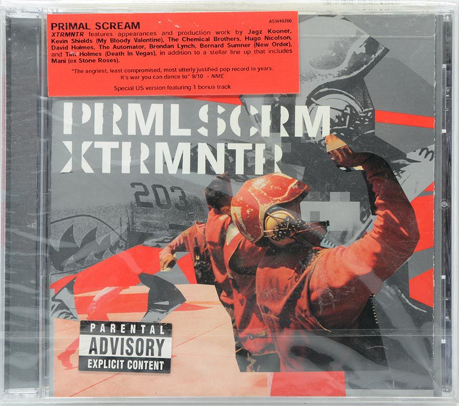 CD Primal Scream - Xtrmntr - Lacrado - Importado