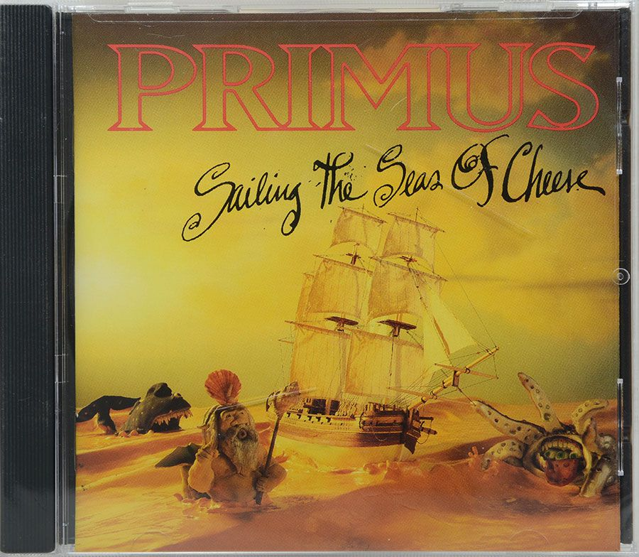 Cd Primus - Sailing The Seas Of Cheese - Lacrado - Importado