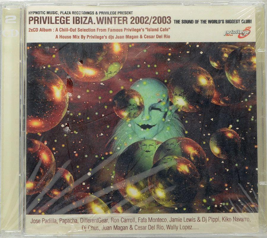 CD Privilege Ibiza - Winter 2002/2003 - Importado - Lacrado