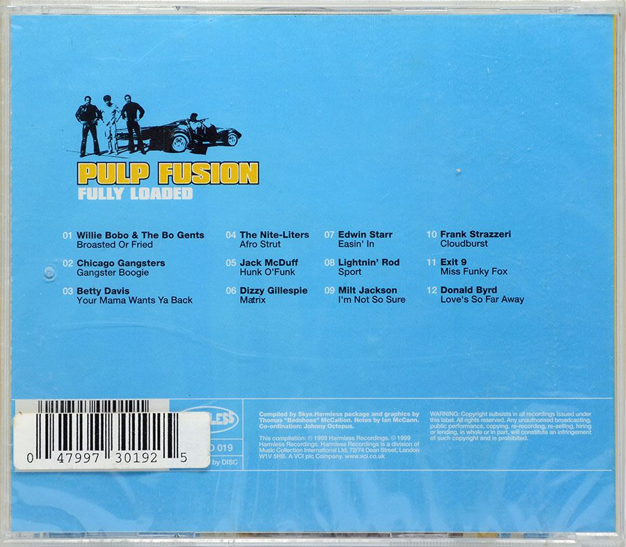 CD Pulp Fusion - Fully Loaded - Lacrado - Importado