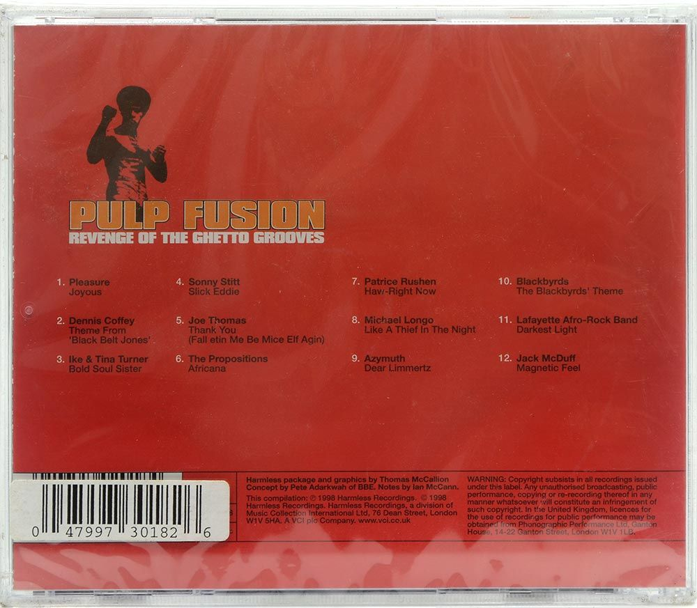 CD Pulp Fusion - Revenge Of The Ghetto Grooves - Importado - Lacrado