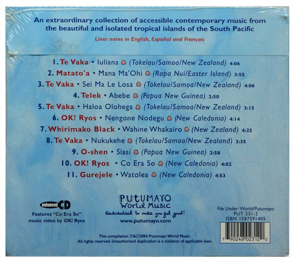 CD Putumaya Presents - South Pacific Islands - Importado