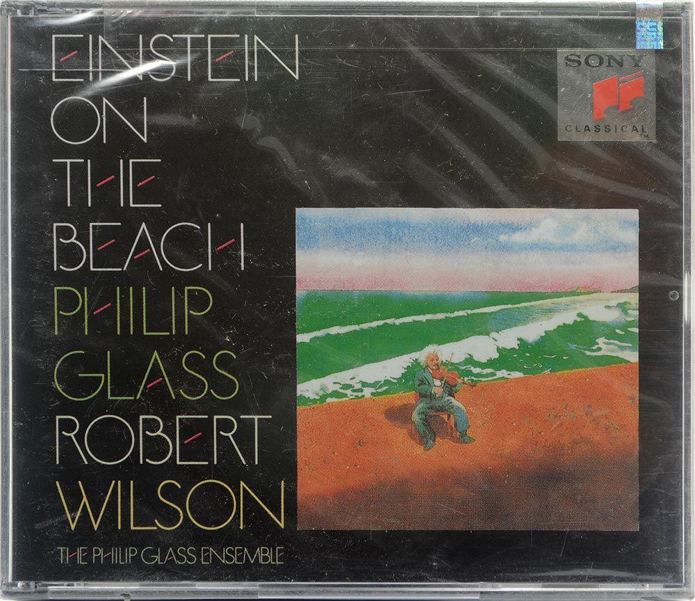 CD Quádruplo Einstein On The Beach - Philip Glass Robert Wilson