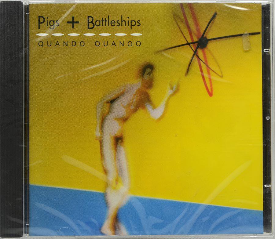 CD Quando Quango - Pigs + Battleships - Lacrado - Importado