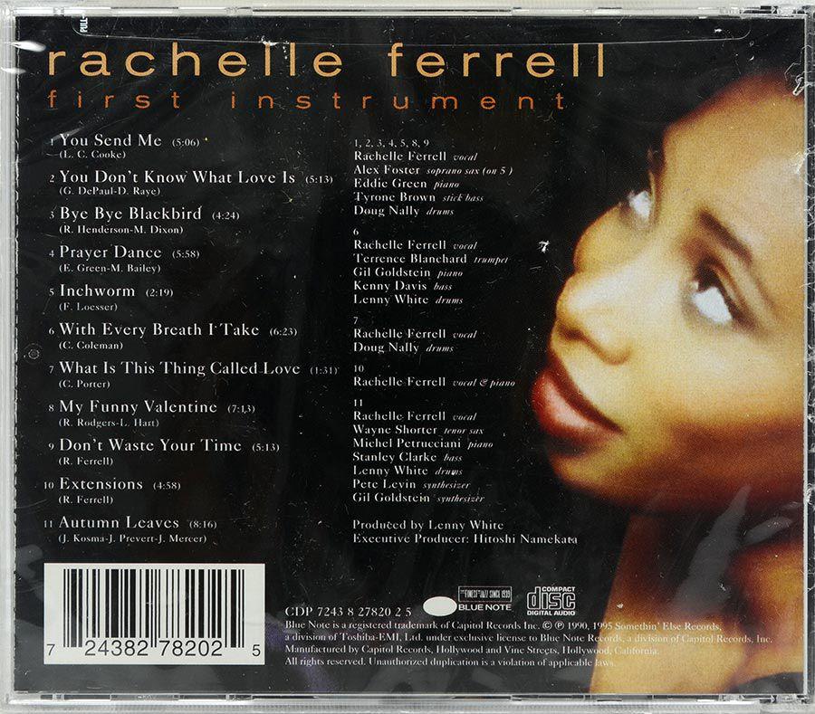 CD Rachelle Ferrell - First Instrument - Lacrado - Importado