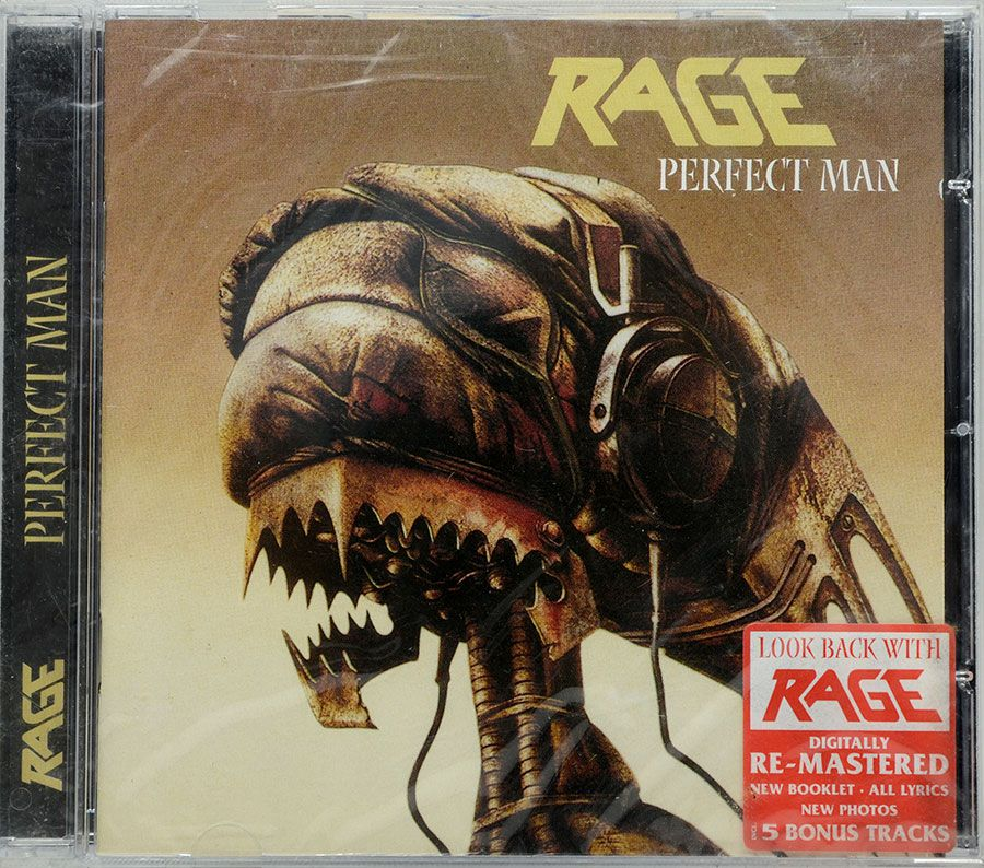 CD Rage - Perfect Man - Lacrado - Importado