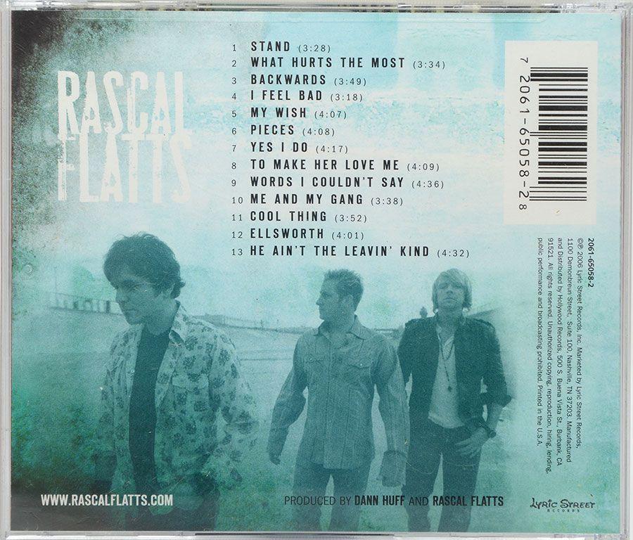 Cd Rascal Flatts - Me And My Gang - Lacrado - Importado