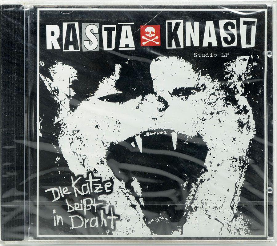 CD Rasta Knast - Die Katze Beisst In Draht - Lacrado - Importado