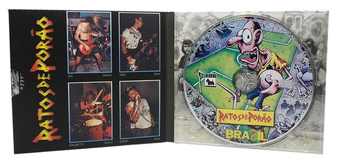 CD Ratos de Porão - Brasil - Digipack - Lacrado