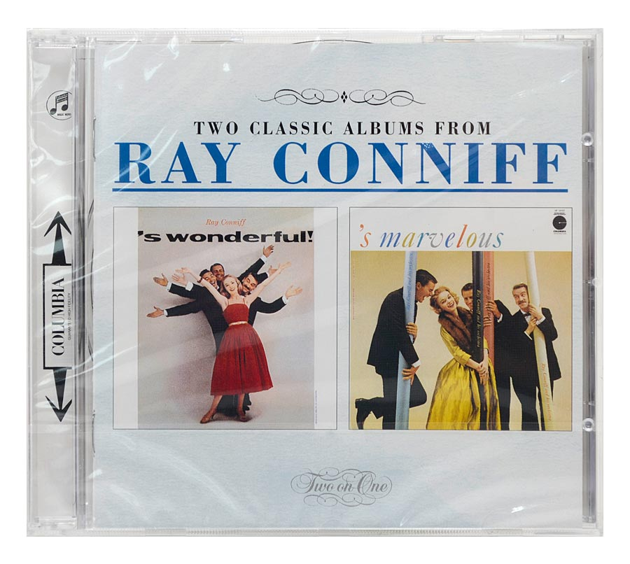 CD Ray Conniff - 'S Wonderful! / 'S Marvelous - Importado - Lacrado