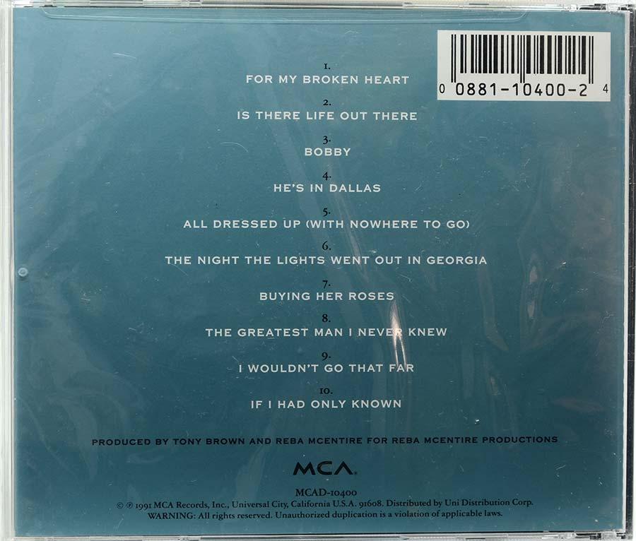 Cd Reba McEntire - For My Broken Heart - Lacrado - Importado