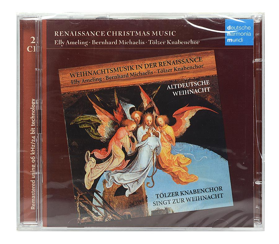 Cd Renaissance Christmas Music - Duplo Importado - Lacrado