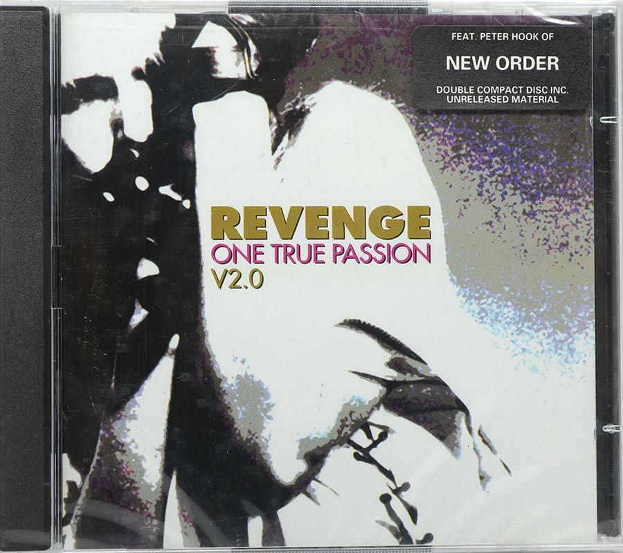 Cd Revenge - One True Passion V2.0 - Lacrado - Importado