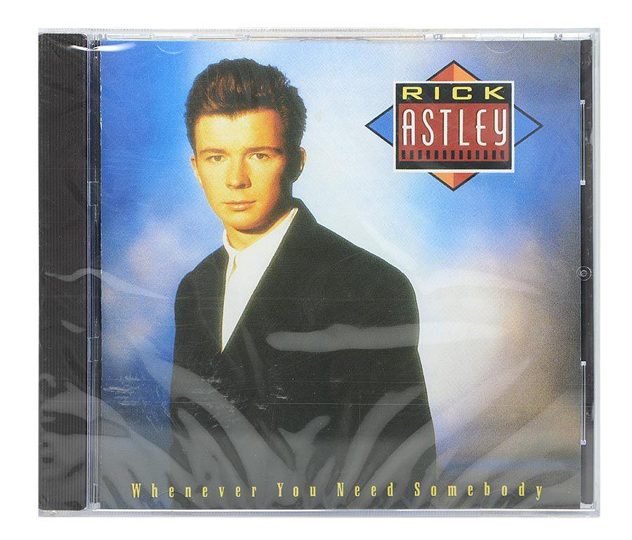 Cd Rick Astley - Whenever You Need Somebody - Importado - Lacrado