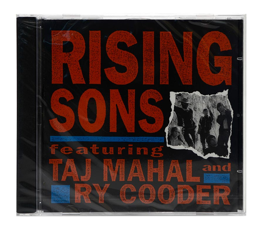 CD Rising Sons Featuring Taj Mahal and Ry Cooder - Importado - Lacrado
