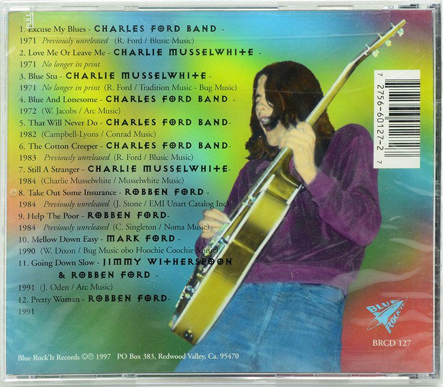 CD Robben Ford - The Blues Collection - Lacrado - Importado