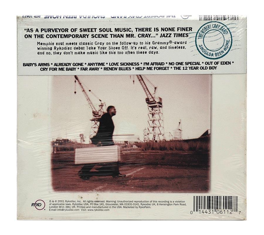 CD Robert Cray - Shoulda Been Home - Digipack Importado USA - Lacrado