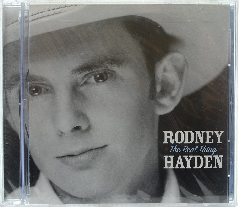 CD Rodney Hayden - The Real Thing - Importado - Lacrado