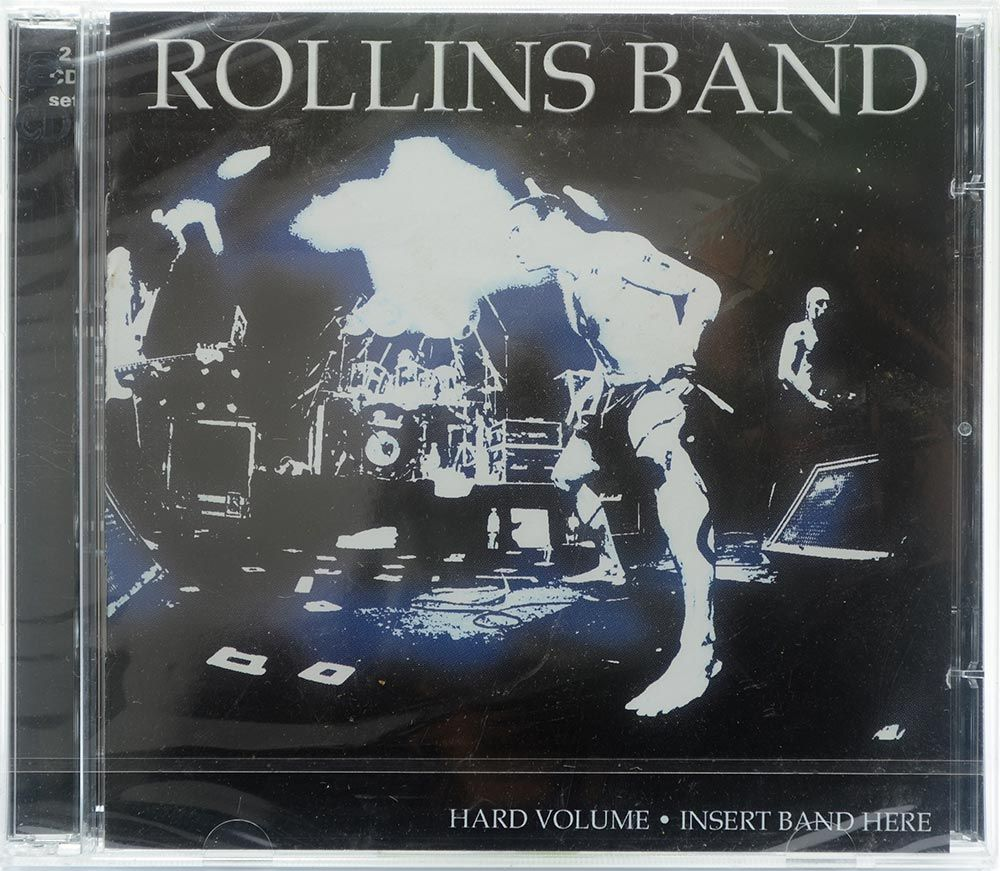 CD Rollins Band - Hard Volume / Insert Band Here - Duplo - Importado UK - Lacrado