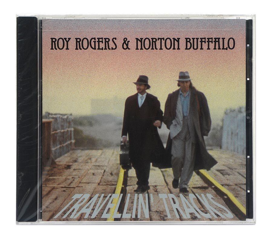 CD Roy Rogers & Norton Buffalo - Travellin Tracks - Importado - Lacrado