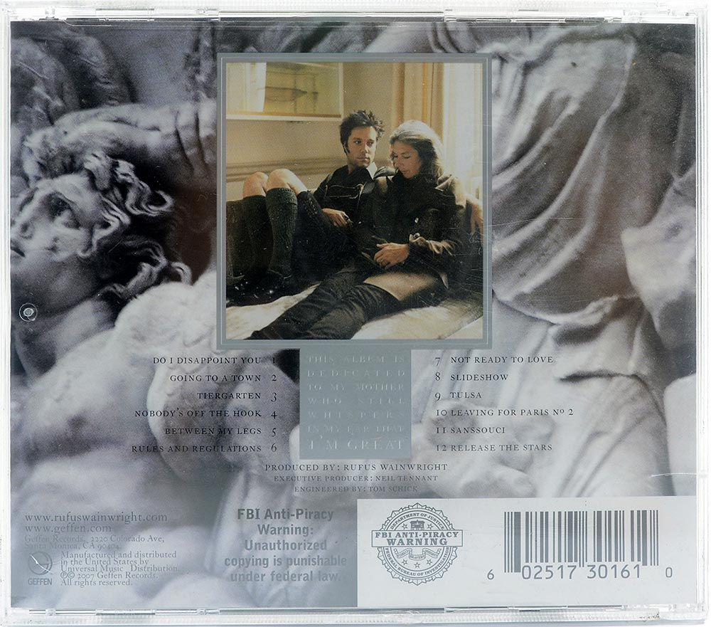 CD Rufus Wainwright - Release The Stars - Importado - Lacrado