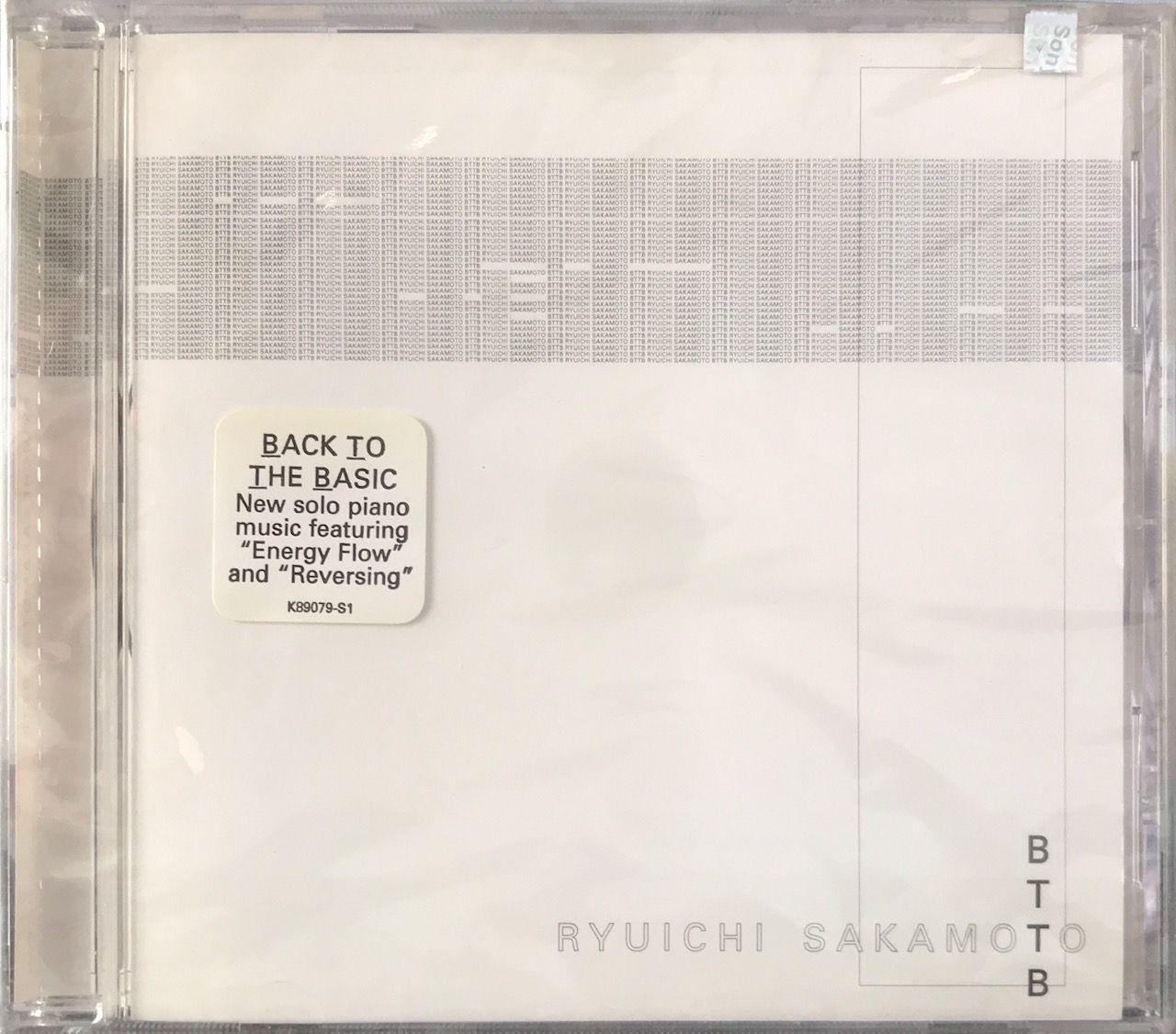 CD Ryuichi Sakamoto - BTTB Back To The Basic - Lacrado - Importado