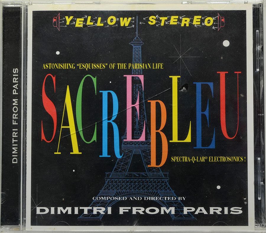CD Sacrebleu - Dimitri From Paris - Lacrado - Importado