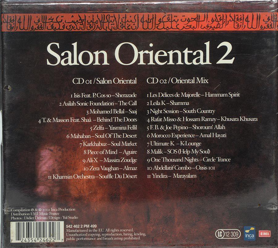 CD Salon Oriental 2 - Oriental Escapade - Lacrado - Importado