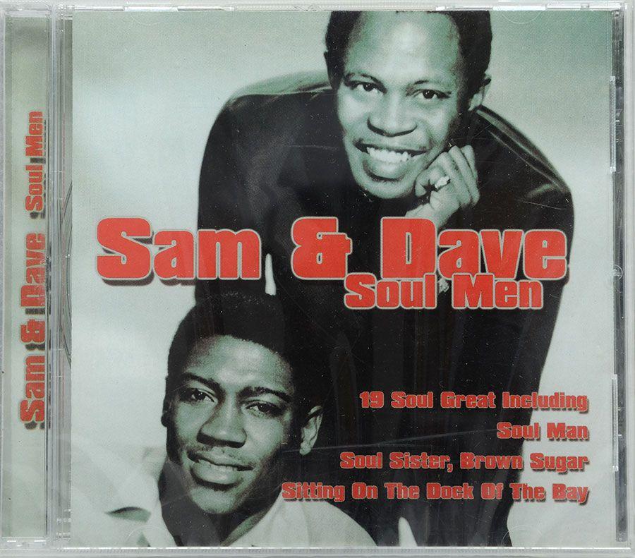 CD Sam & Dave - Soul Men - Lacrado - Importado