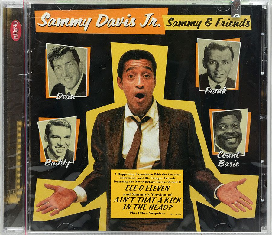Cd Sammy Davis Jr. - Sammy And Friends - Lacrado - Importado