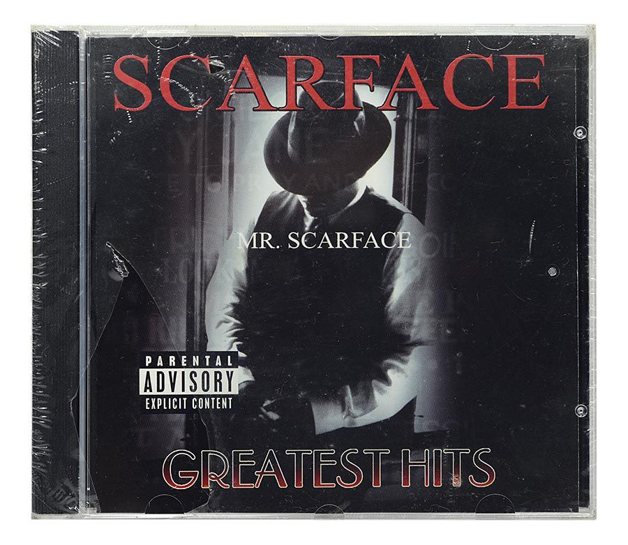 CD Scarface - Greatest Hits - Importado - Lacrado