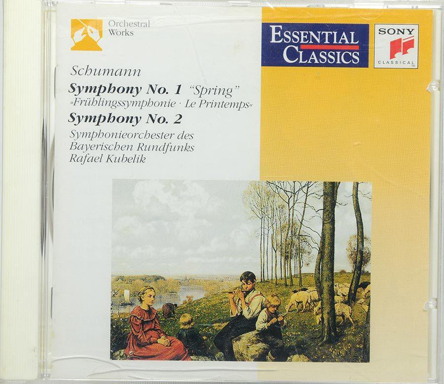 Cd Schumann: Symphonies Nº1 Spring Nº2 Kubelik - Lacrado - Importado