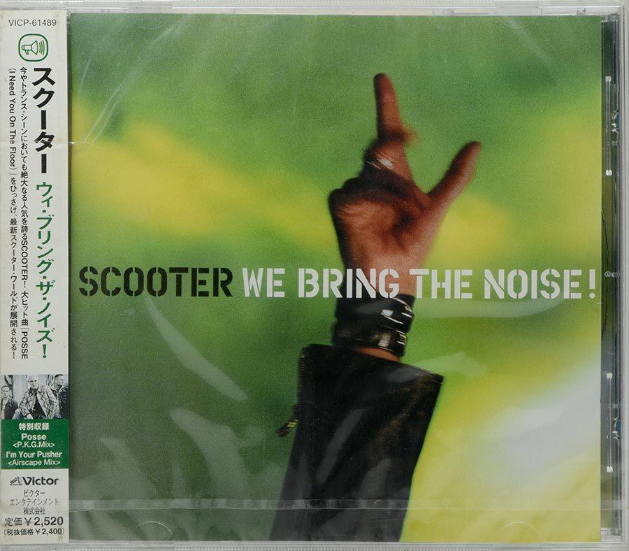 CD Scooter - We Bring The Noise! - Lacrado - Importado Japão