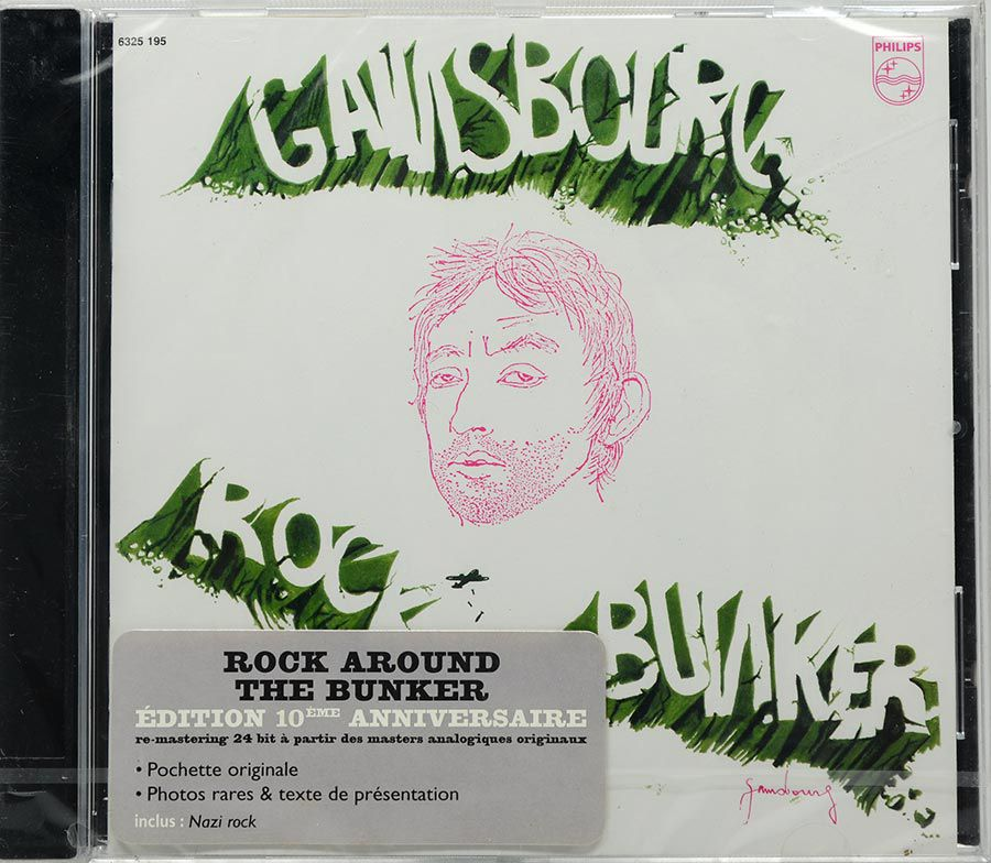 CD Serge Gainsbourg - Rock Around The Bunker - Lacrado - Importado