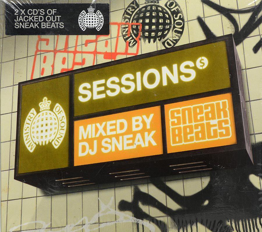CD Sessions Presents Dj Sneak - Ministry Of Sound - Lacrado - Importado