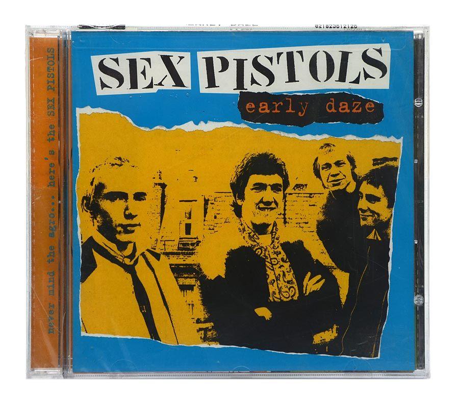Cd Sex Pistols - Early Daze - Importado - Lacrado